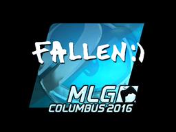 Sticker | FalleN (Foil) | MLG Columbus 2016