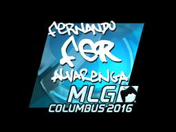 Sticker | fer (Foil) | MLG Columbus 2016