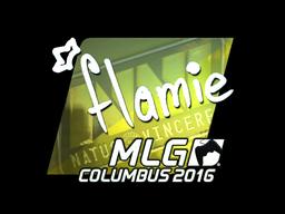 Sticker | flamie (Foil) | MLG Columbus 2016