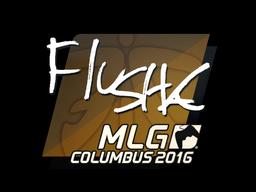 Наклейка | flusha | Колумбус 2016