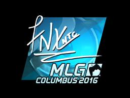 Sticker | fnx (Foil) | MLG Columbus 2016