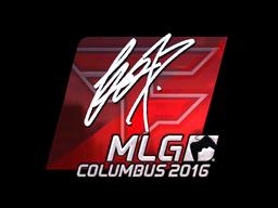 Sticker | fox (Foil) | MLG Columbus 2016