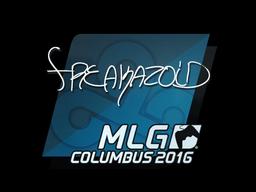 Наклейка | freakazoid | Колумбус 2016