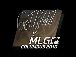 Sticker | GeT_RiGhT | MLG Columbus 2016