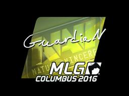 Sticker | GuardiaN (Foil) | MLG Columbus 2016