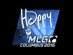 Sticker | Happy (Foil) | MLG Columbus 2016
