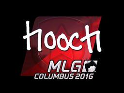 Sticker | hooch (Foil) | MLG Columbus 2016
