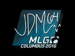 Наклейка | jdm64 | MLG Columbus 2016
