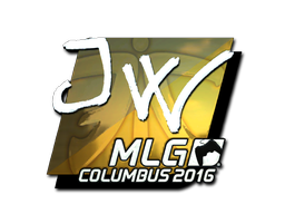 Sticker | JW (Foil) | MLG Columbus 2016