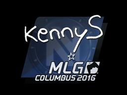 Sticker | kennyS | MLG Columbus 2016