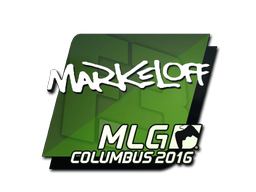 Sticker | markeloff | MLG Columbus 2016