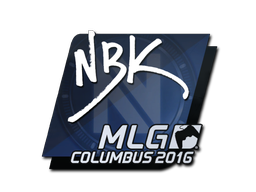 Sticker | NBK- | MLG Columbus 2016