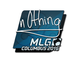 Наклейка | n0thing | Колумбус 2016