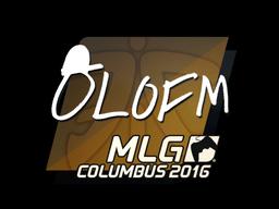 Наклейка | olofmeister | Колумбус 2016