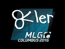 Наклейка | reltuC | MLG Columbus 2016