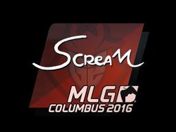Sticker   ScreaM   MLG Columbus 2016