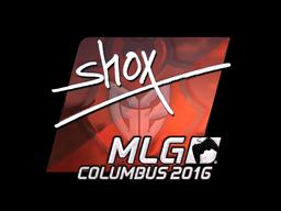 Sticker | shox (Foil) | MLG Columbus 2016