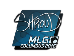 Наклейка | shroud | Колумбус 2016