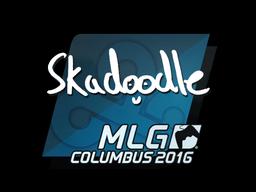 Наклейка | Skadoodle | Колумбус 2016