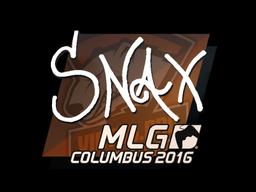 Sticker | Snax | MLG Columbus 2016