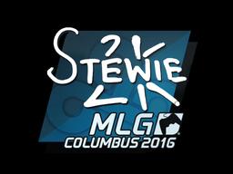 Наклейка | Stewie2K | Колумбус 2016