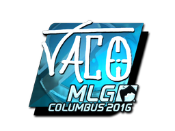 Sticker | TACO (Foil) | MLG Columbus 2016