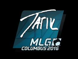 Наклейка | tarik | Колумбус 2016