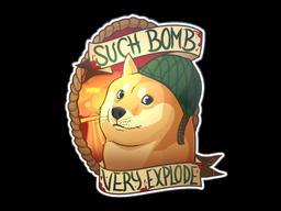 Sticker | Bomb Doge