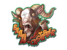 Sticker | Baaa-ckstabber!