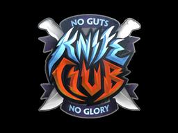Sticker | Knife Club