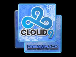 Наклейка | Cloud9 (голографическая) | DreamHack 2014