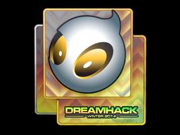 Наклейка | Team Dignitas (голографическая) | DreamHack 2014