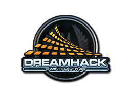 Наклейка | DreamHack Winter 2014 (металлическая)
