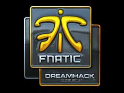 Наклейка | Fnatic (металлическая) | DreamHack 2014