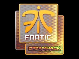 Наклейка | Fnatic (голографическая) | DreamHack 2014