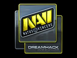 Наклейка | Natus Vincere (металлическая) | DreamHack 2014