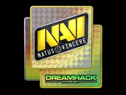 Наклейка | Natus Vincere (голографическая) | DreamHack 2014