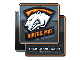 Наклейка | Virtus.Pro (металлическая) | DreamHack 2014