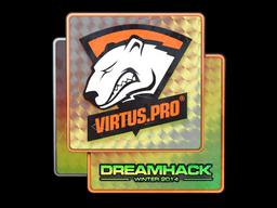 Наклейка | Virtus.Pro (голографическая) | DreamHack 2014