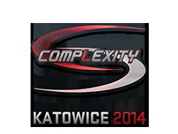Наклейка | compLexity Gaming (голографическая) | Катовице 2014