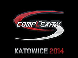 Наклейка | compLexity Gaming | Катовице 2014