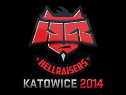 Наклейка | HellRaisers | Катовице 2014