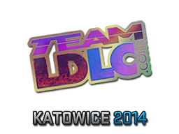 Наклейка | Team LDLC.com (голографическая) | Катовице 2014