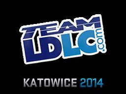 Наклейка | Team LDLC.com | Катовице 2014