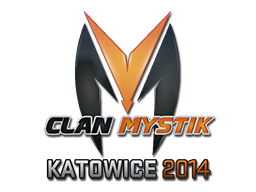 Наклейка | Clan-Mystik | Катовице 2014