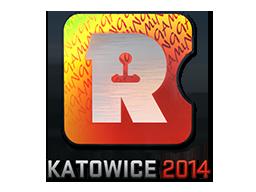 Наклейка | Reason Gaming (голографическая) | Катовице 2014