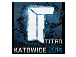 Наклейка | Titan | Катовице 2014