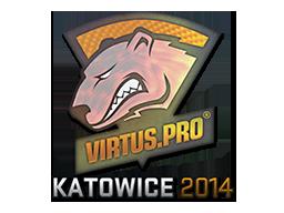 Наклейка | Virtus.Pro (голографическая) | Катовице 2014