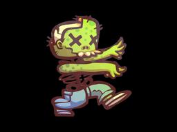 Sticker | The Zombie