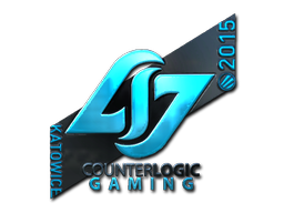 Sticker | Counter Logic Gaming (Foil) | Katowice 2015